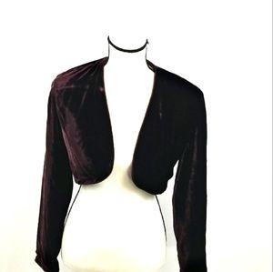 Nicole Miller camisole burgandy size 4